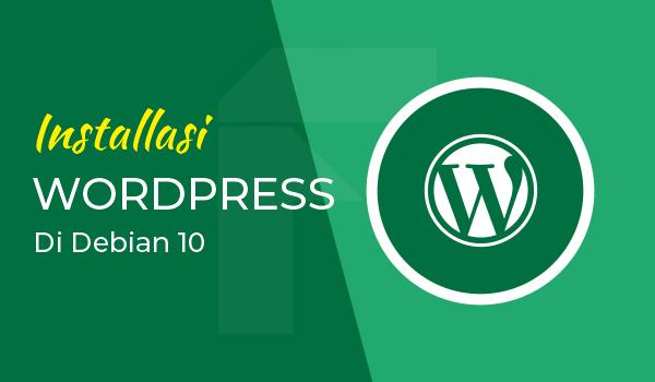 install wordpress debian 10